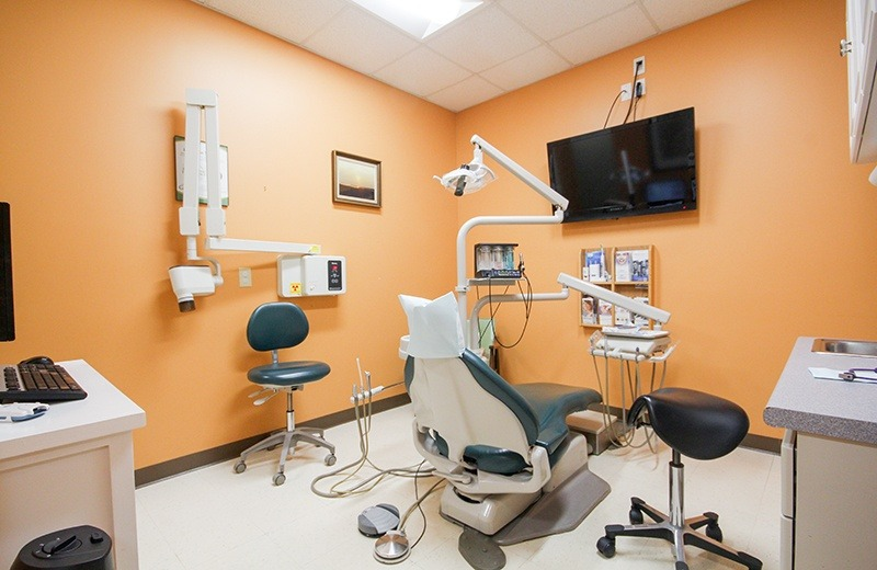 orange exam room+