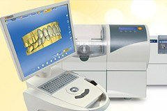 CEREC one-visit restortion system